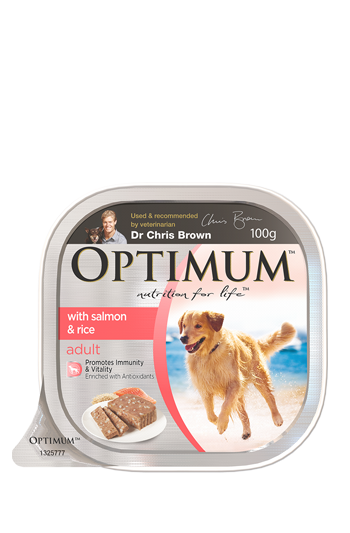 dr jeff optimum dog food