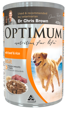 Dog Food Adult Lamb and Rice Wet Can